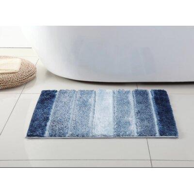Olney Bath Rug Size: 24 H x 17 W, Color: Navy