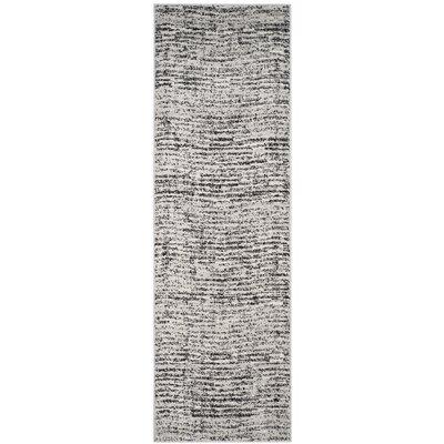 Millbrae Black/Beige Area Rug Rug Size: Runner 26 x 10