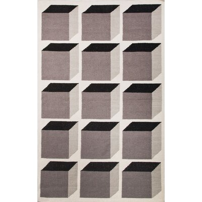 Benson Brown Geometric Area Rug Rug Size: 5 x 8