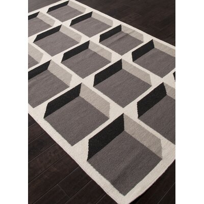 Ensley Brown Geometric Area Rug