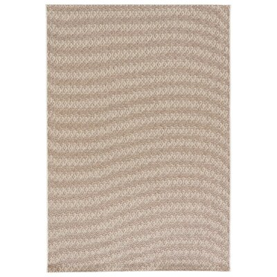 Honn Gardenia/Silver Mink Indoor/Outdoor Area Rug Rug Size: Rectangle 2 x 3