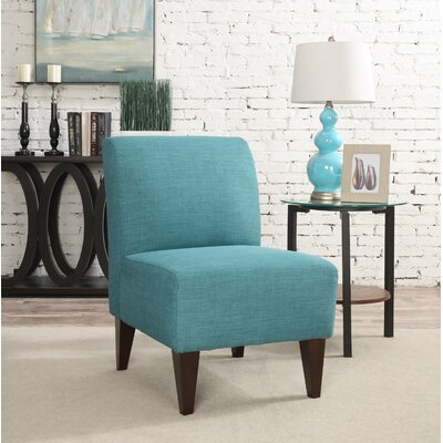 Proctor Slipper Chair Upholstery: Teal