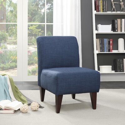 Proctor Slipper Chair Upholstery: Blue