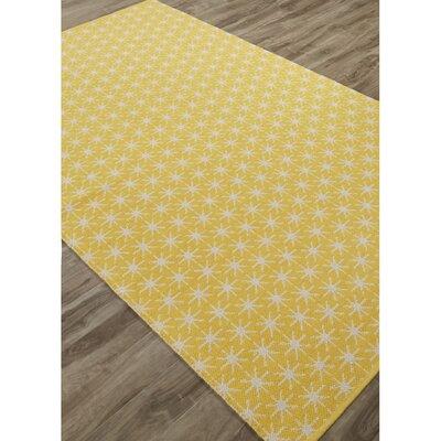 Maurice Yellow/Ivory Area Rug Rug Size: 8 x 11