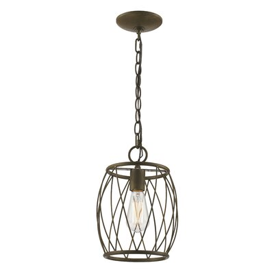 Poynter 1-Light Mini Pendant Finish: Antique Gold