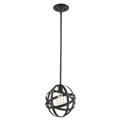 Prange 1-Light Mini Pendant Finish: Rubbed Oil Bronze