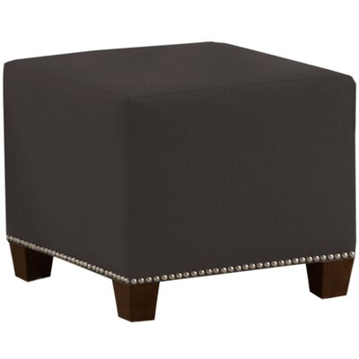 Cliffcrest Cube Ottoman Color: Charcoal