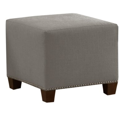 Cliffcrest Cube Ottoman Color: Grey