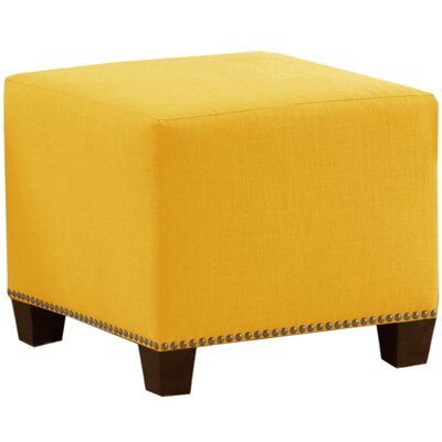 Cliffcrest Cube Ottoman Color: French Yellow