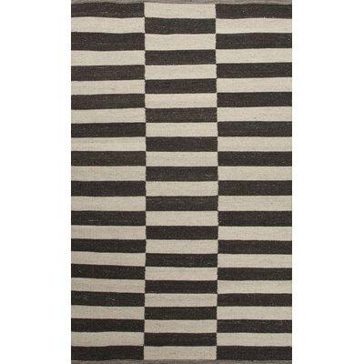 Campbelltown Ivory & Black Area Rug Rug Size: 8 x 10