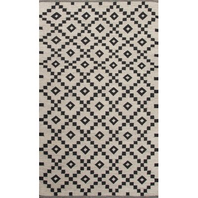 Campbelltown Ivory/Black Area Rug Rug Size: 8 x 10