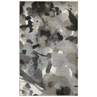 Rebeca Gray Area Rug Rug Size: Runner 21 x 75