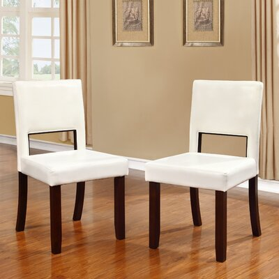 Menahan Side Chair Upholstery: White