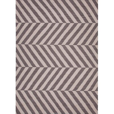 Davis Liquorice Stripe Area Rug