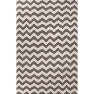 Davis Gray & Ivory Area Rug Rug Size: Rectangle 5 x 8