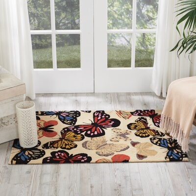 Railey Butterfly Area Rug