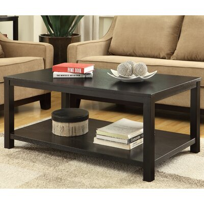 Crown Heights Coffee Table Color: Black