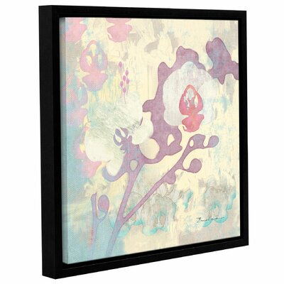 Abstract Orchids Panel I Framed Graphic Art Size: 10