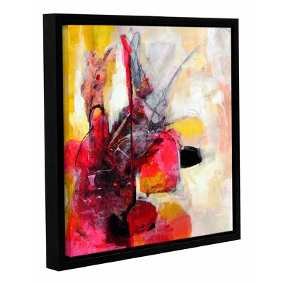 'Off Balance' by Sia Aryai Framed Painting Print  Size: 10