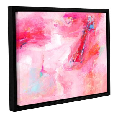 'While She Dances' by Sia Aryai Framed Painting Print  Size: 14
