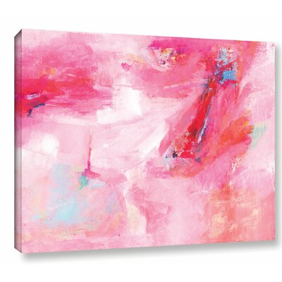 'While She Dances' by Sia Aryai Painting Print on Wrapped Canvas Size: 14