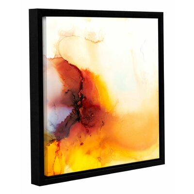 'Dragon Rain' by Sia Aryai Framed Painting Print  Size: 10