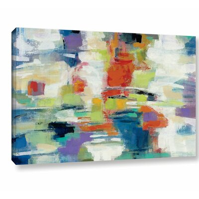 'Island Town' by Silvia Vassileva Painting Print on Wrapped Canvas Size: 12