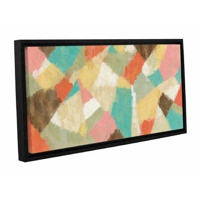'Pinwheel' by Silvia Vassileva Framed Painting Print Size: 12