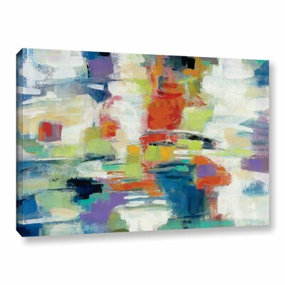 Island Town Painting Print on Wrapped Canvas Size: 12