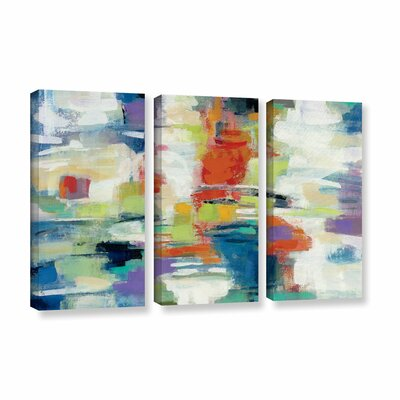 Island Town Painting Print on Wrapped Canvas Size: 24