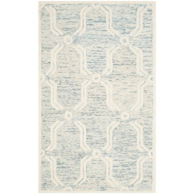 Medina Hand-Tufted Area Rug Rug Size: Rectangle 5 x 8