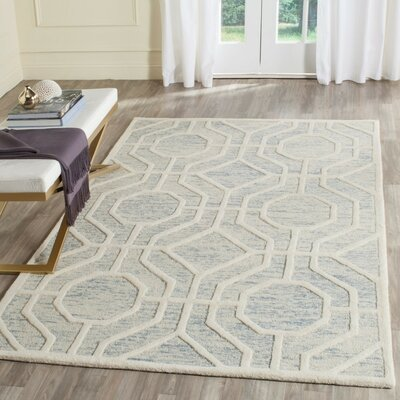 Medina Hand-Tufted Area Rug Rug Size: Rectangle 4 x 6