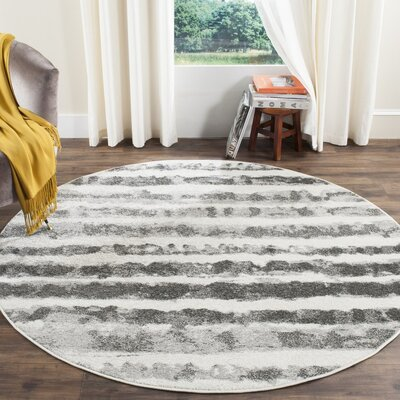 Seaport Area Rug Rug Size: Round 6