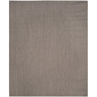 Jefferson Place Light Brown/Light Gray Outdoor Area Rug Rug Size: 6'7
