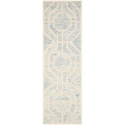 Medina Hand-Tufted Area Rug Rug Size: Runner 26 x 8