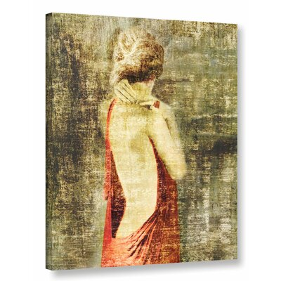 'Fado IV' by Sia Aryai Painting Print on Wrapped Canvas