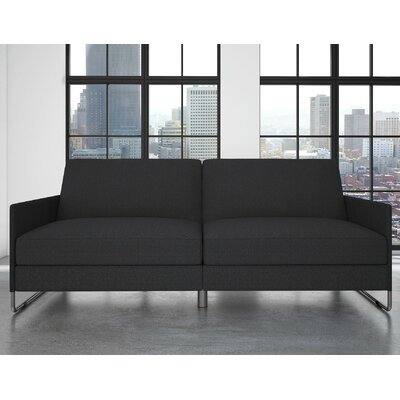 Callion Convertible Sofa Color: Gray