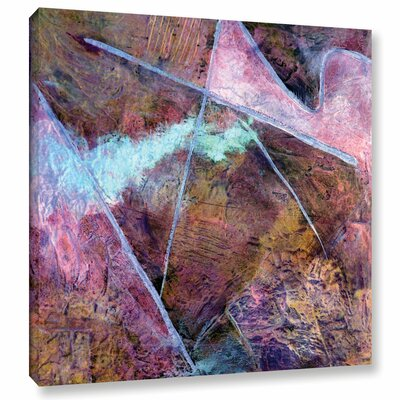 'Catharsis I' By Herb Dickinson Painting Print on Wrapped Canvas Size: 10