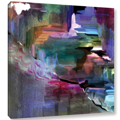 Untilted Paining Print on Wrapped Canvas Size: 10