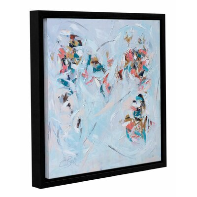 Abstract Entwined Framed Painting Print on Wrapped Canvas Size: 10