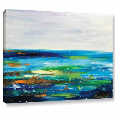 Landscape 5 Painting Print on Wrapped Canvas Size: 14