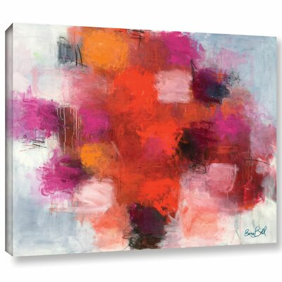'Deep in Love' by Emma Bell Painting Print on Wrapped Canvas Size: 14