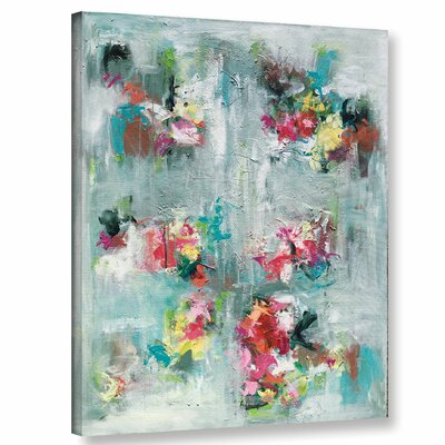 Emerging Blossom Painting Print on Wrapped Canvas Size: 10