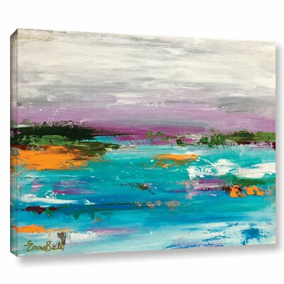 Landscape 1 Painting Print on Wrapped Canvas Size: 14