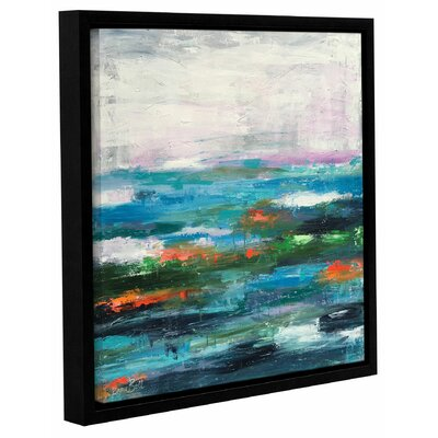 Abstract Entwined Framed Painting Print