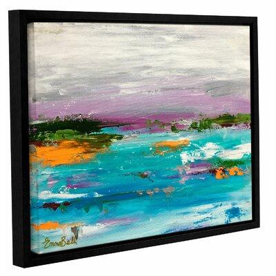 Landscape 1 Framed Painting Print Size: 14