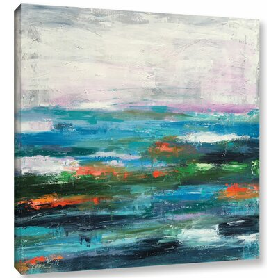 Abstract Entwined Painting Print on Wrapped Canvas