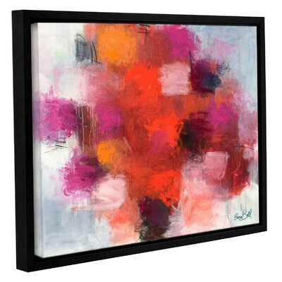 Deep in Love Framed Painting Print Size: 14