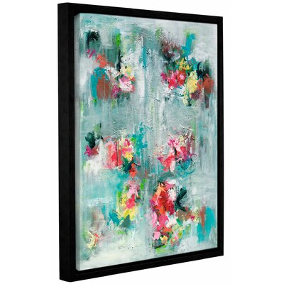 Emerging Blossom Framed Painting Print Size: 10