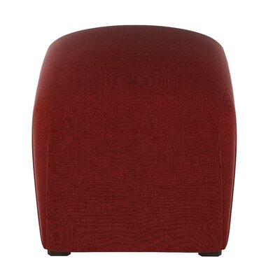 Damen Linen Ottoman Color: Antique Red